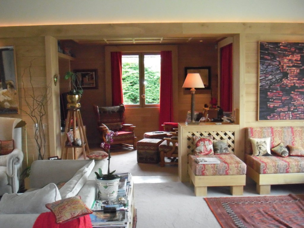 Am nagement int rieur d 39 un chalet savoyard atelier for Amenagement interieur chalet