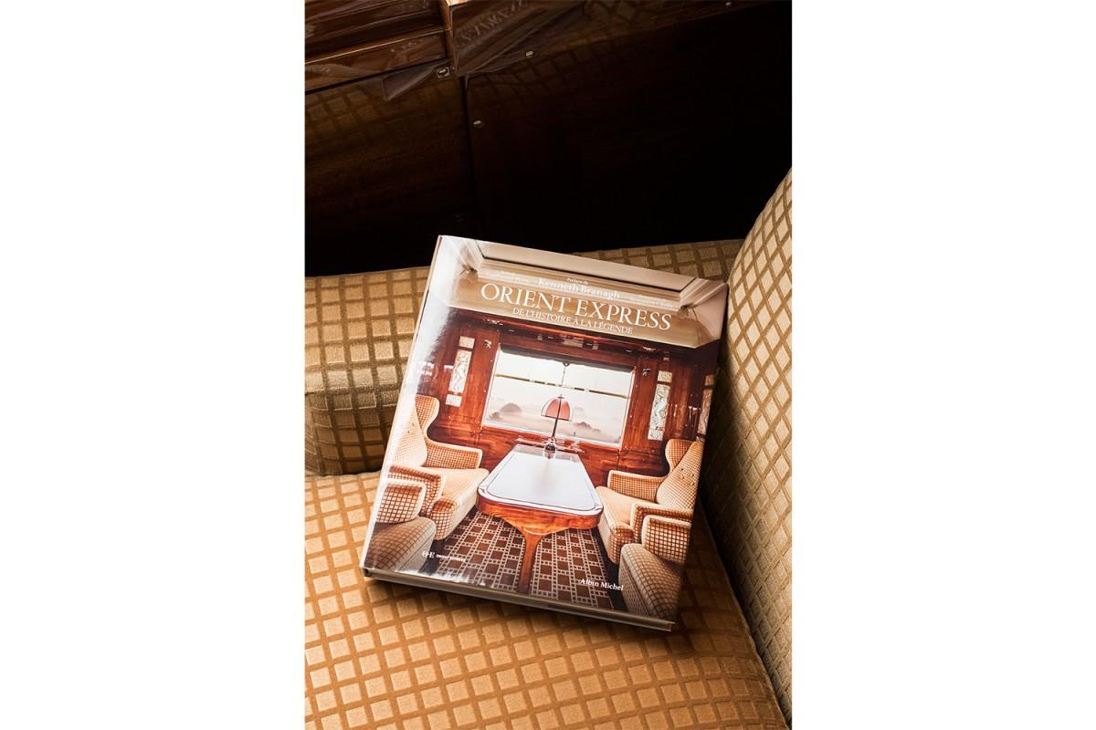 Edition «Orient Express, de l'Histoire à la Légende» chez Albin Michel