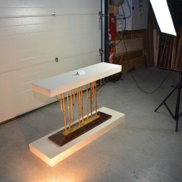 Inauguration : console (modèle déposé)