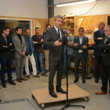 Inauguration : discours de Jean-Pierre BRENAS, Conseiller régional Auvergne-Rhône-Alpes