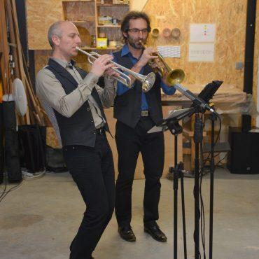 Inauguration : La scène des Puys, trompettistes jazz