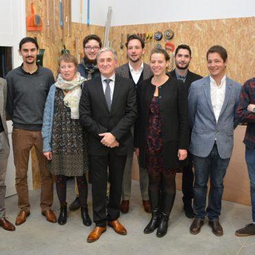 Inauguration : l'équipe Atelier Philippe Allemand