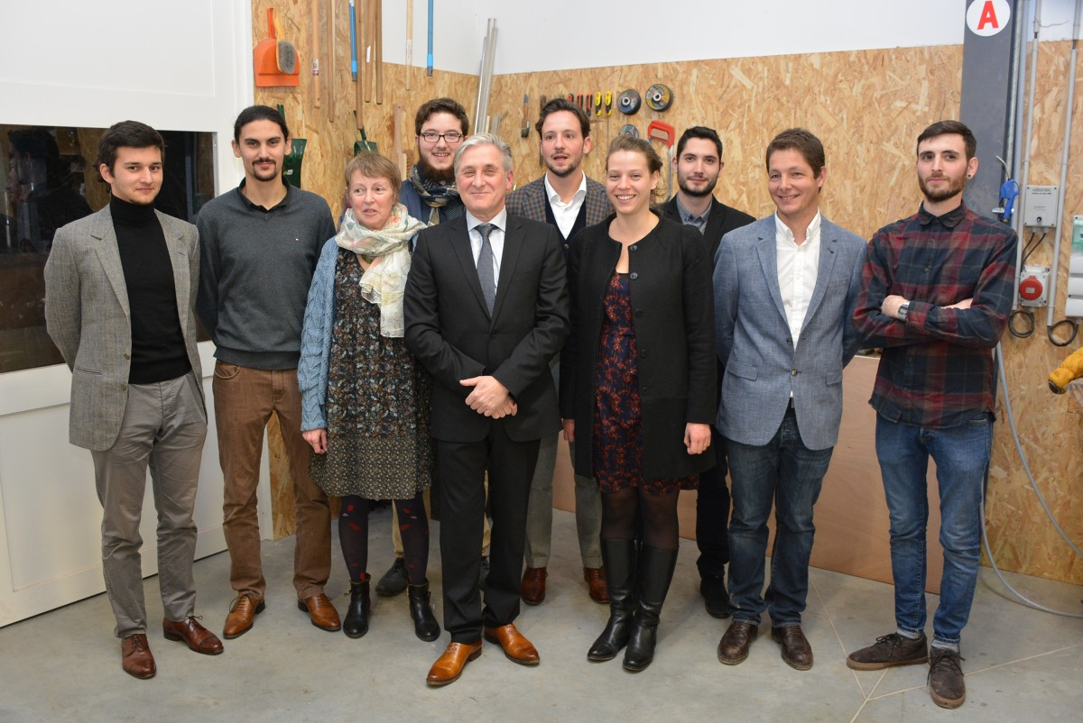 Inauguration du nouvel atelier Philippe Allemand