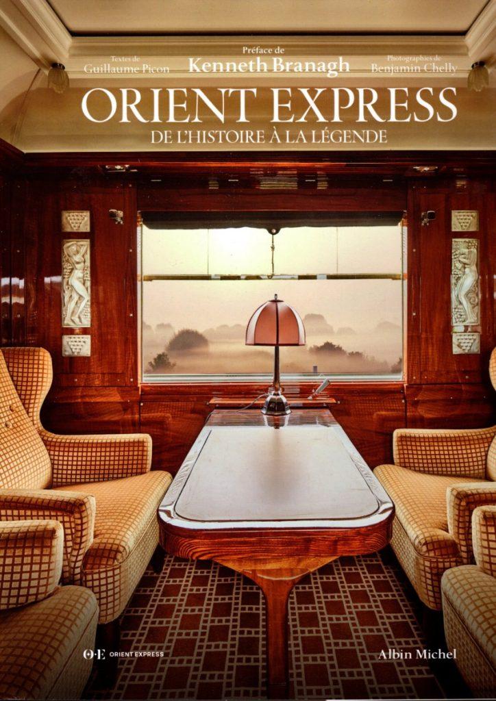 Orient Express de l'Histoire à la Légende-couverture