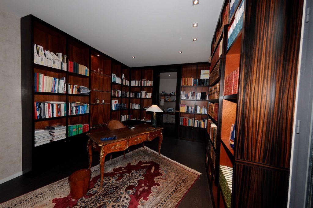 Bibliothèque vue d'ensemble