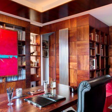 Aménagement d'un bureau privé ©Jérôme Mondière
