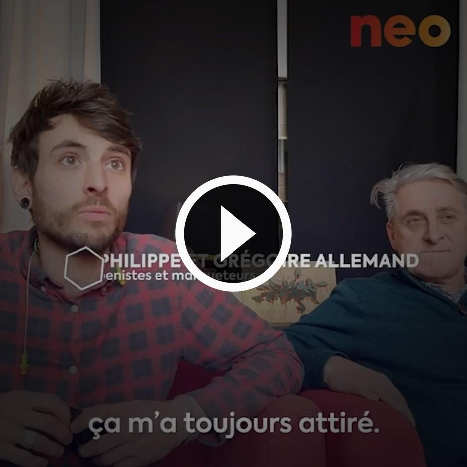 Reportage/Interview de Neo TV – «Ce père et son fils ont restauré des voitures du légendaire Orient-Express»